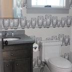 The Grantham Lakehouse Farmhouse Bathroom Boston