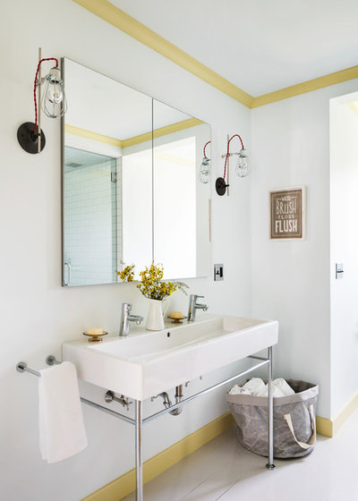 Transitional Bathroom by Hendricks Churchill