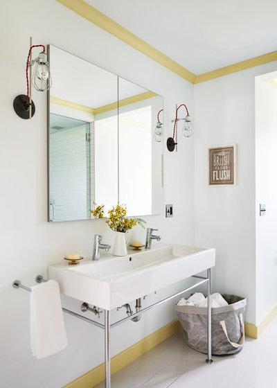 Transitional Bathroom by Hendricks Churchill