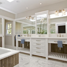 Farmhouse Bathroom by KCS, Inc.
