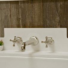 Farmhouse Bathroom by KCS, Inc.