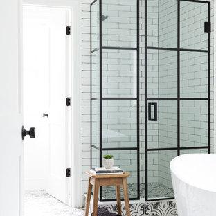 Contemporary Farmhouse Kitchen and Baths by Karen Berkemeyer home