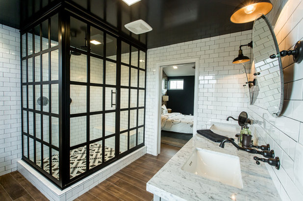 Industrial Bathroom by Responsive Home