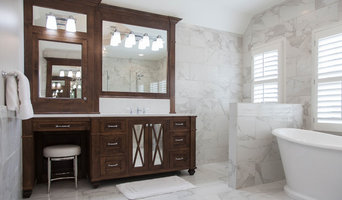 Contemporary Floor to Ceiling Tiled Master Bathroom