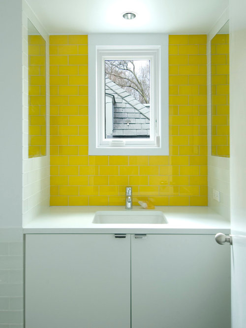 Turquoise bath design ideas pictures remodel decor - Yellow and turquoise bathroom ...