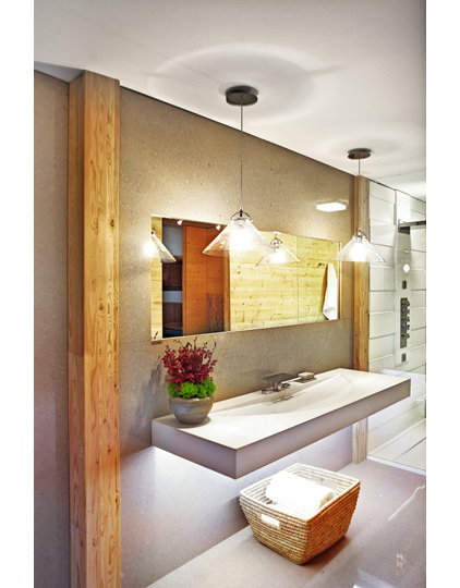 Contemporary Bathroom by Jacqueline Glass and Associates