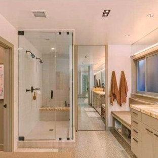 Contemporary Hancock Park Master Bathroom Remodel