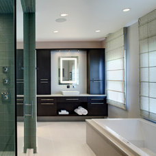 Contemporary Bathroom by Drury Design