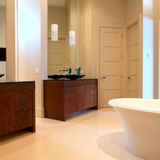 Contemporary Bathroom by Cabinetry Dynamics