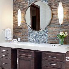 Contemporary Bathroom by Magdalena Bogart Interiors