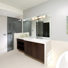 Contemporary Bathroom by LIFESTYLE KITCHENS by The Kitchen Lady