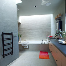 Asian Bathroom by Tierra Concepts Santa Fe