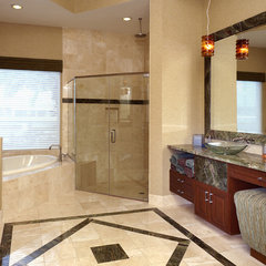 contemporary bathroom by Weiss Design Group, Inc.