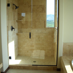 contemporary bathroom by Chelan Home Center