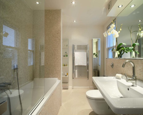 Mosaic Tile Shower Ideas: Mosaic Tile Bathroom Home Design Ideas, Pictures, Remodel