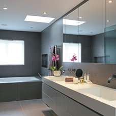 Contemporary Bathroom by FISHER HART