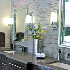 Traditional Bathroom by Traci Connell Interiors