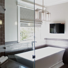 Contemporary Bathroom by Traci Connell Interiors