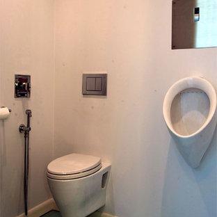 Contemporary Master Bath & Closet
