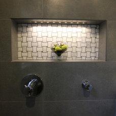 Contemporary Bathroom by Design Studio -Teri Koss