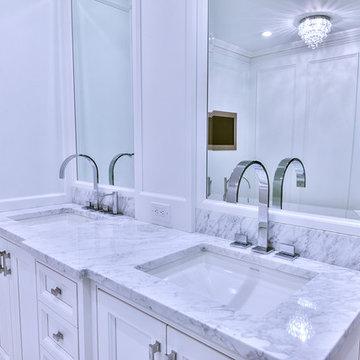 Contemporary Master Bath Haverford
