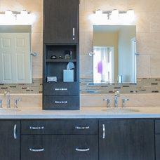 Contemporary Bathroom by Martin Grace LLC