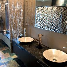 Contemporary Bathroom by HomeTech Renovations, Inc.