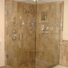 Contemporary Bathroom by Essence Design Studios