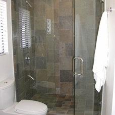 Contemporary Bathroom by Kelly Darling Spadoni - Darling Interiors