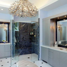 Contemporary Bathroom by Studio 76 Kitchens and Baths