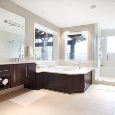 Contemporary Bathroom by Tracy Herbert Interiors, LLC