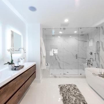 Contemporary Master Bath | Wrightwood Residence | Studio City, CA