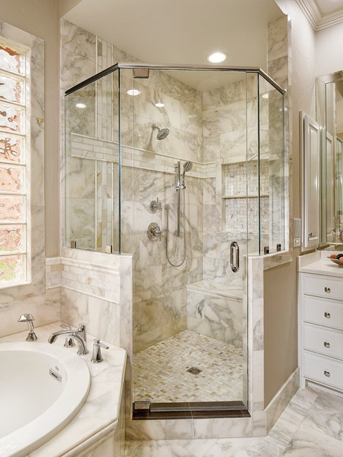 Large bathroom design ideas renovations photos with a for 4 piece bathroom designs