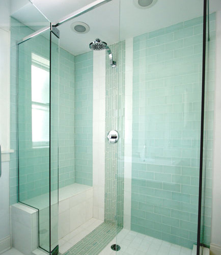 Small Bathroom With Walk In Shower And Tub