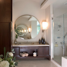 Contemporary Bathroom by Orren Pickell Building Group