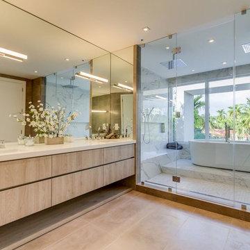 Contemporary Miami Bathrooms