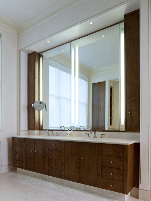 Bathroom Mirror Storage Ideas, Pictures, Remodel and Decor