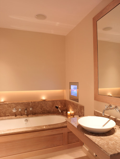 Tv In Bathroom | Houzz
