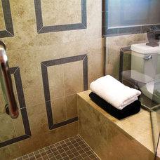 Contemporary Bathroom by Chris Jovanelly Interior Design