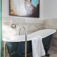 Contemporary Bathroom by Grace Home Design, Inc.