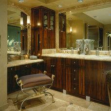 Contemporary Bathroom by Martin Perri Interiors, Inc.