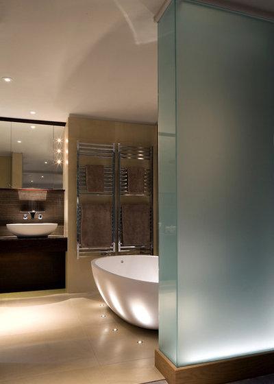 Contemporary Bathroom by Brilliant Lighting
