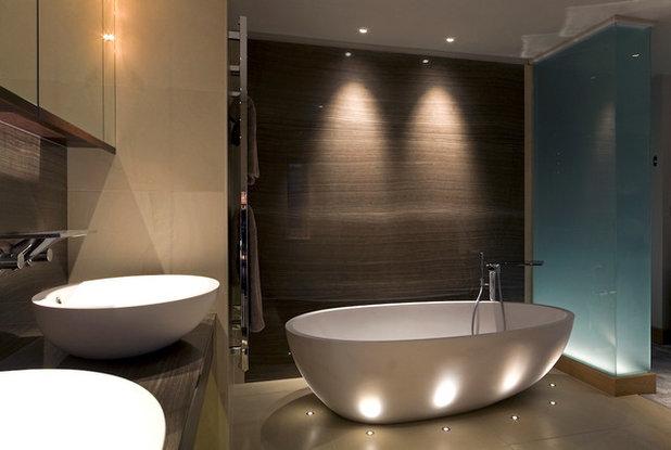 Modern bathroom led lighting