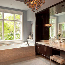 Contemporary Bathroom by Weber Design Group, Inc.