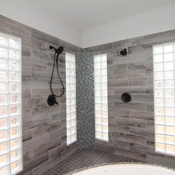 Contemporary Open Shower Designs