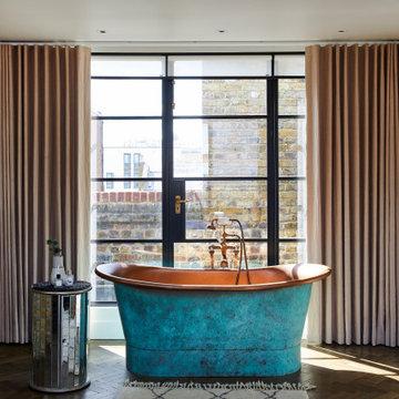 Contemporary Penthouse Complete Renovation, Aldgate, London