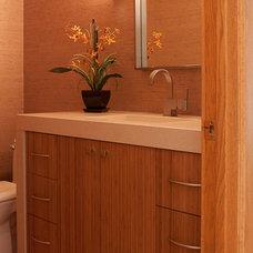 Contemporary Bathroom by Devane Design