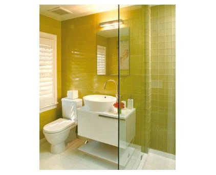 Contemporary Bathroom Contemporary Powder Room