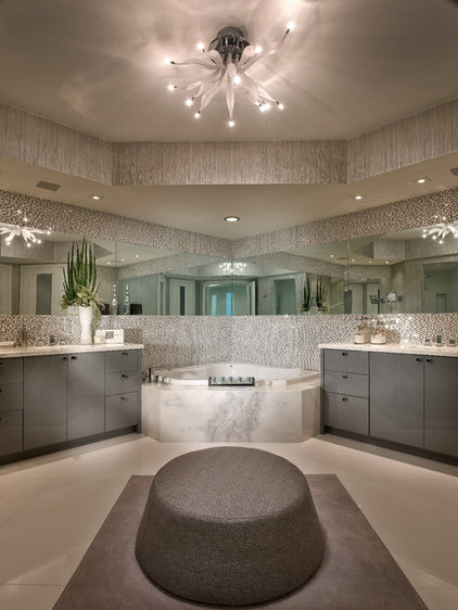 Contemporary Bathroom by Interiors by Steven G