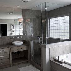 Contemporary Bathroom by Anderson Homes